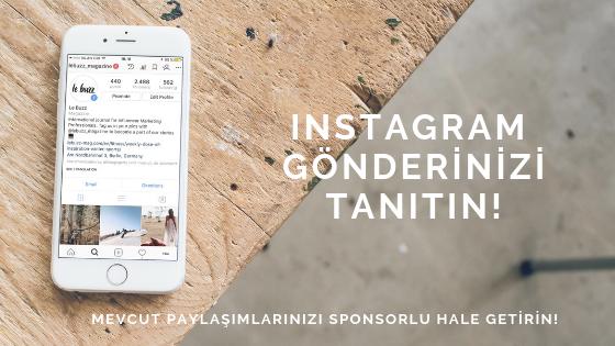 Instagram Gönderi Tanıtımı