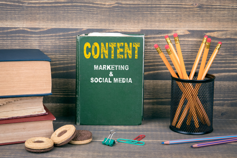Content, marketing and social media