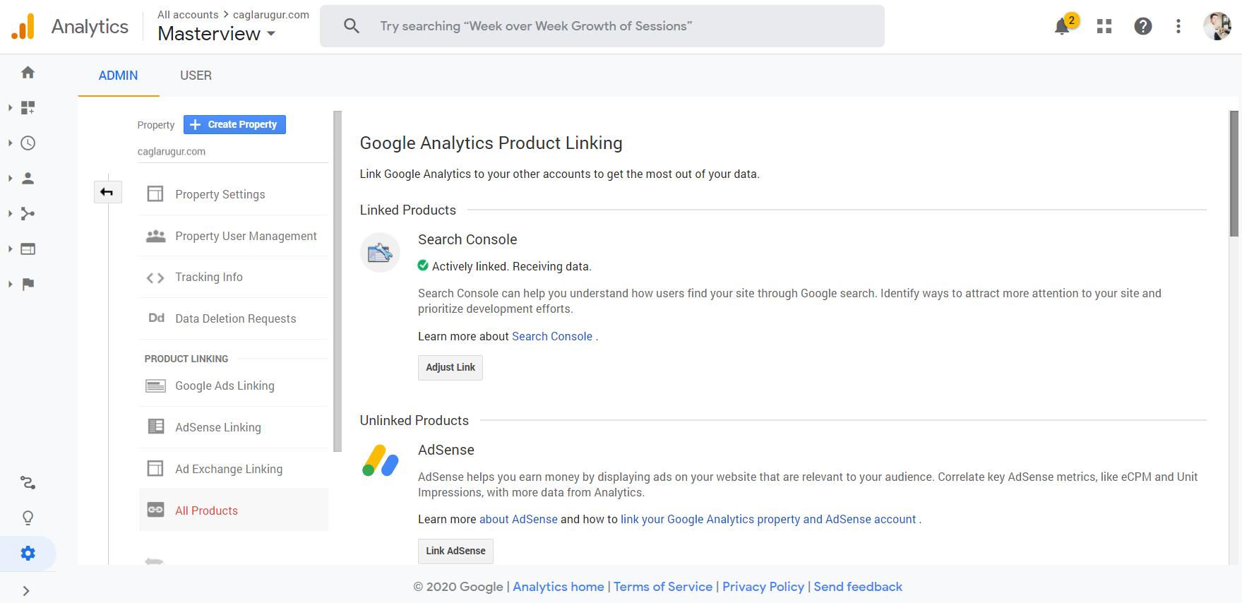 Google Analytics & Google Search Console
