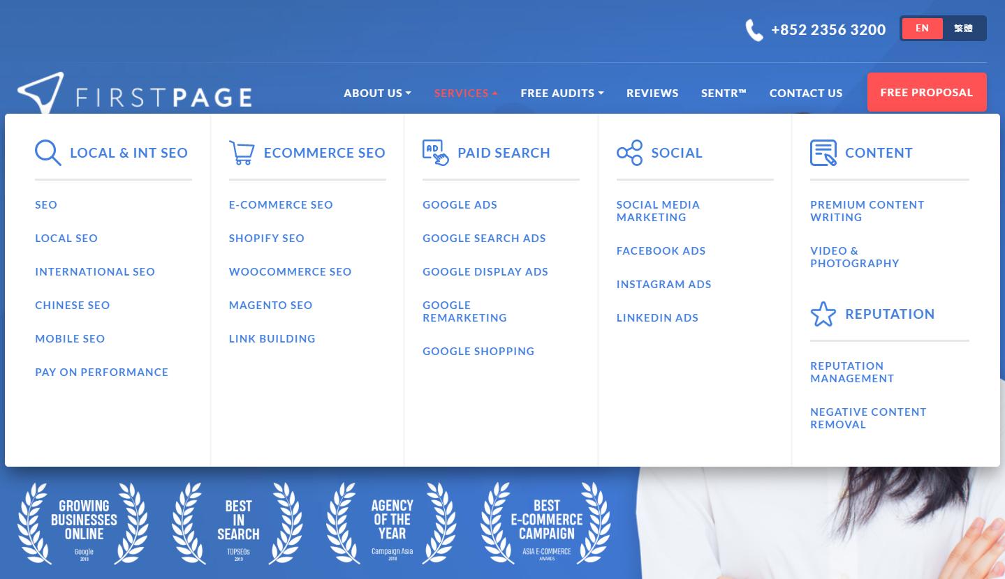 firstpage digital HK - Digital Marketing Agency in Hong Kong