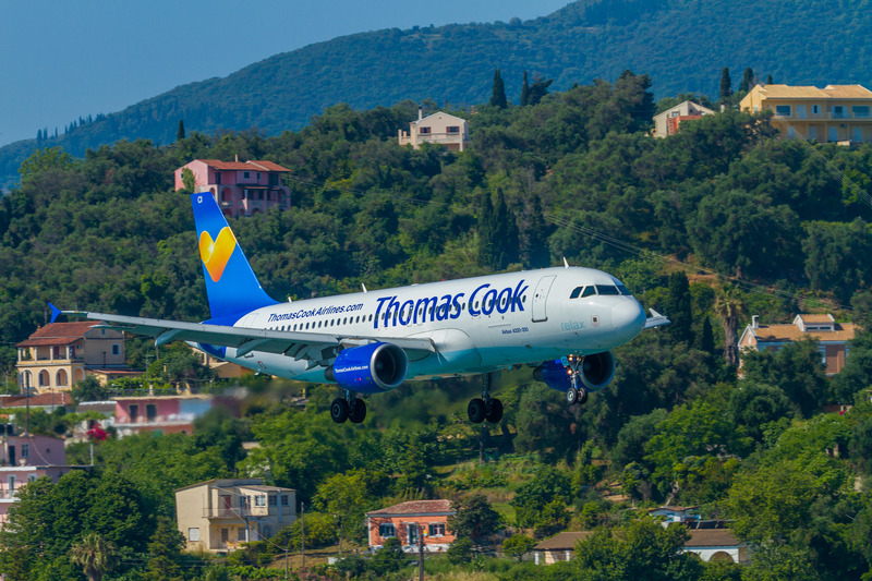 Thomas Cook Boeing 767 on approach