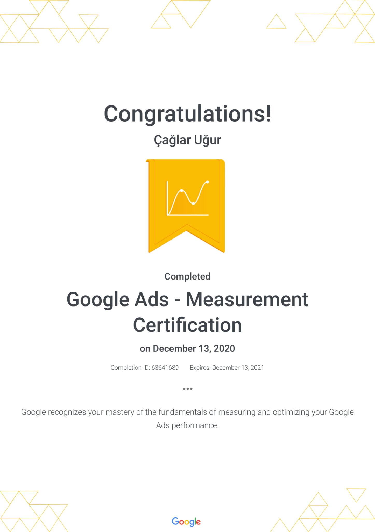 Google Ads - Measurement Certification
